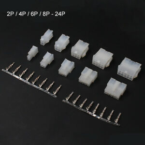 2 24 Pin Way 4 2mm Pitch 5557 5559 Electrical Wire Plug Connector Terminal Kits