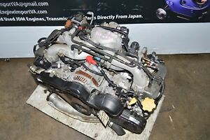 Jdm 99 04 Subaru Forester Engine 00 04 Legacy Outback Ej20 Sohc Replacement Ej25