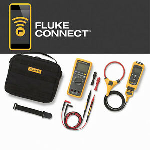 Fluke Flk a3001 Fc Kit Multimeter Iflex Clamp Module Accessory Kit