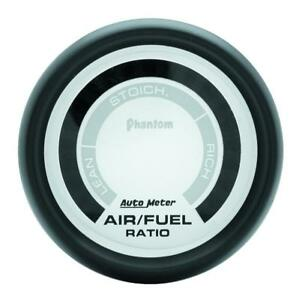 Autometer Phantom Digital Gauge Air fuel Ratio 2 1 16 Dia 5775