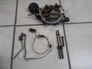 Chevy Gmc Gm Throttle Body 7 4 454 Big Block 2 Inch Bore Tbi With Injectors