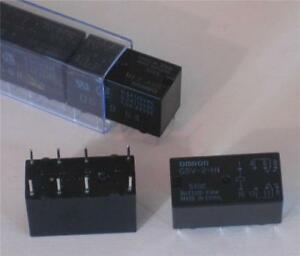 Omron Relay G5v 2 h1 5v Relays Qty 25 New