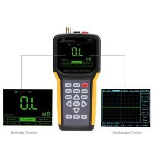 Channels 20mhz Sample Rate Lcd Digital Handheld Oscilloscope With Multimeter Fz