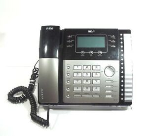 Rca Visys 25424re1 a 4 line Business Phone Desk Telephone Fully Functional