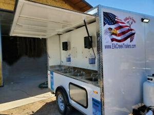 Start Your Own Business 1000 00 Per Day Handwashing Station trailer Mounted