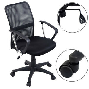 Computer Desk Chair Ergonomic Office Home Comfort Adjustable Executive High Back