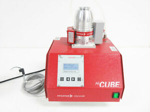 Pfeiffer Hicube 80 Eco Turbo Pumping Station Pm S03 557 A Tc 110 Hipace 80