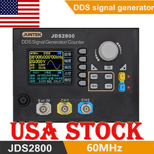 Jds2800 60mhz Dds Function Arbitrary Waveform Signal Generator Software Kit Us