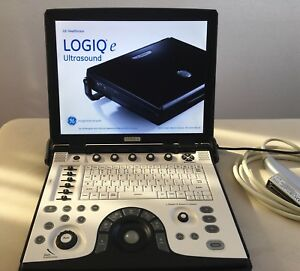Ge Logic E Ultrasound Machine With 12 Rl Linear Probe