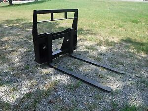 Bobcat Mt 453 S70 Mini Skid Steer New 42 Pallet Forks Attachment Ship 149