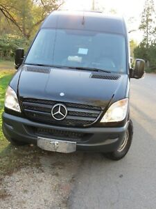 2012 Mb Sprinter With Complete Cleaning Truck Mount
