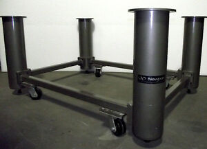 Newport Optical Table Base Set Nn 45 W Casters 3 Ft X 4 1 3 Ft