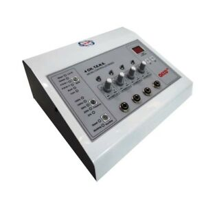 Electrotherapy 4 Channel Physiotherapy Pain Relief Unit Physical Therapy Machine