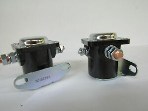 2 Pack Snow Plow 12v Start Solenoid Side Mount Replaces Meyer 15370