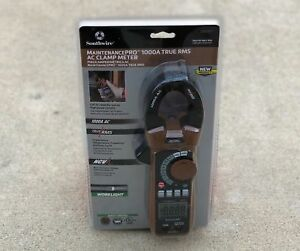 New Maintenancepro 1000 Amp Ac Clamp Meter True Rms Free Shipping 23030t