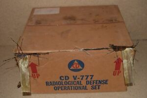 Victoreen Model 1a Cdv 715 Radiation Detector Charger Lot Of 3 d1