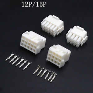 12 15 Pin Way 6 3mm Elevator Car Electrical Wire Connector Crimp Terminals Kit