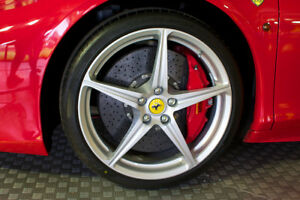 1 Genuine Ferrari 458 20 Inch Wheel Rim Oem Rear 262950 10 5x20 Factory