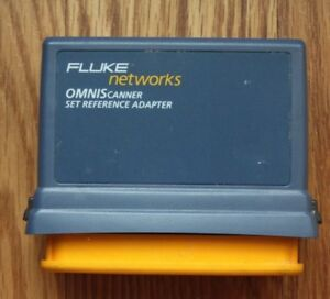 Fluke Networks Omni Scanner Set Reference Adapter 2950 4015 02