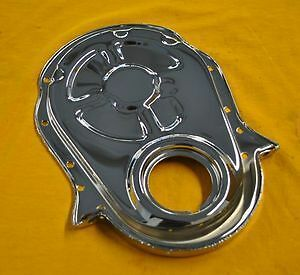 Bbc Chrome Timing Cover Big Block Chevy 396 454 502 Fits Camaro Chevelle Nova