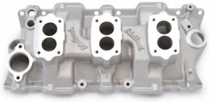 Edelbrock 5419 Sbc Small Block Chevy Three Deuce Intake Manifold