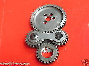 Sbc Small Block Chevy Dual Idler Noisy Gear Drive Timing Pro Series 350 383 400