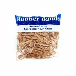 Wholesale Lot Of 24 Units Rubber Band Assortment 500 Per Package Nice