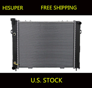 New Radiator 1396 For Jeep Grand Cherokee 1993 1997 4 0 L6 6cyl
