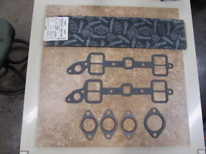 Nors Ford Mercury 256 Y Block Intake And Exhaust Manifold Gasket Set Ms6174mk