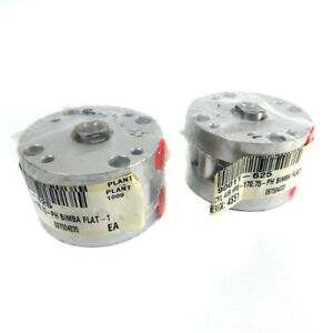 lot Of 2 Bimba F0 170 75 ph Flat 1 Double Acting Pneumatic Air Cylinders
