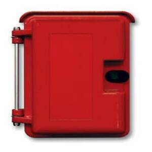 Viking Electronics Heavy Duty Outdoor Enclosure Red Ve 9x12r 0