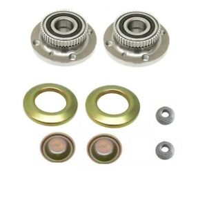 Bmw E30 325is 325i 325es 325e 325 Front Wheel Hub Bearing Nut Cup Cap Kit
