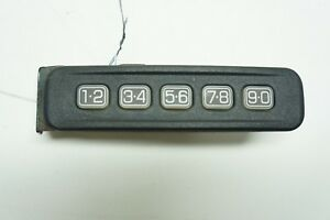 09 12 Ford Escape Xlt Driver Left Door Keyless Entry Keypad Numbers Buttons Oem