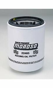 Two 2 Moroso 22465 Oil Filter Racing 1 1 2 12 Unf Thread 6 250 High