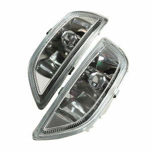 For 2001 2002 Toyota Corolla Clear Lens Front Bumper Driving Fog Light Lamp New