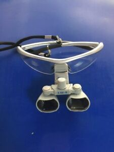 Dental Loupes Surgical Medical Binocular Optical Glass 3 5x420mm Cv 290 Silver