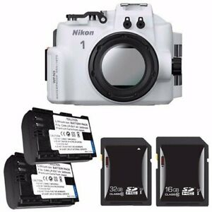 Nikon Wp n3 Waterproof Housing For Nikon 1 J4 Or S2 Camera And Nikkor