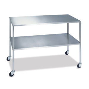 Instrument Table With Shelf 30 w X 16 d X 34 h 1 Ea
