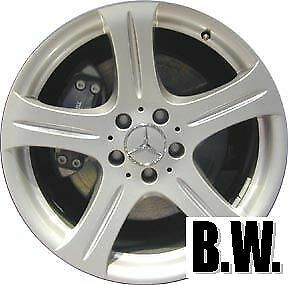 18 Inch Oe Wheel Fits 2006 2006 Mercedes Cls500 065372