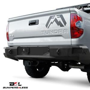 Fab Fours Tt16 W3650 1 Powder Coated Premium Rear Bumper For 2016 2018 Tacoma