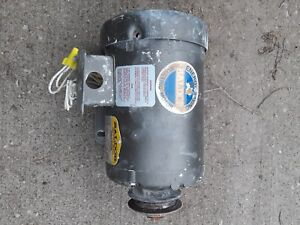 3 4hp 75hp Baldor Electric Motor 208 230 460 3 Phase With Pulley