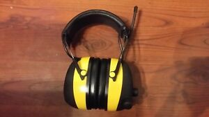 3m Peltor Worktunes Am fm mp3 Digital Earmuffs Headset Headphones Radio