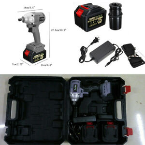 1pc 220v Brushless Electric Impact Wrench Cordless Hand Drill Installation Tool