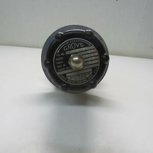 New Grove Hand Loader Pressure Reducing Regulator Model 15lx 0 300 Psig