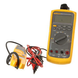 Fluke 87 v Digital Multimeter Fluke T5 1000 Electric Tester W Testing Pins
