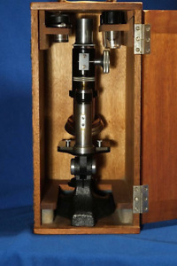 Winkel Student Microscope W Two Objectives And Pointer Eyepiece