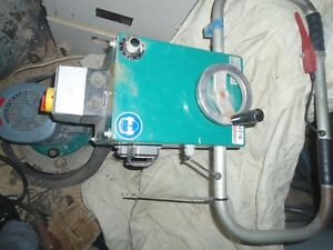 Concrete Floor Grinder Polisher German Contec With Italian Vac Nilfisk