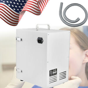 Dental Lab Digital Single row Dust Collector Vacuum Cleaner 370w Dentist Tools U