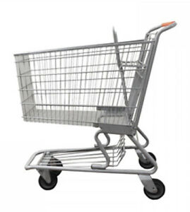 Large Shopping Cart Basket Convenience Grocery Variety Retail Store Lot Of 6 New