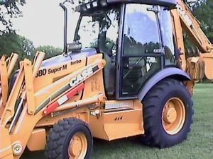 2001 Case 580 Super M Loader Backhoe 4x4 very Clean
